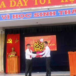 Trường THPT Quang Trung tổ chức Lễ kỷ niệm 90 năm ngày thành lập Đảng cộng sản Việt Nam!