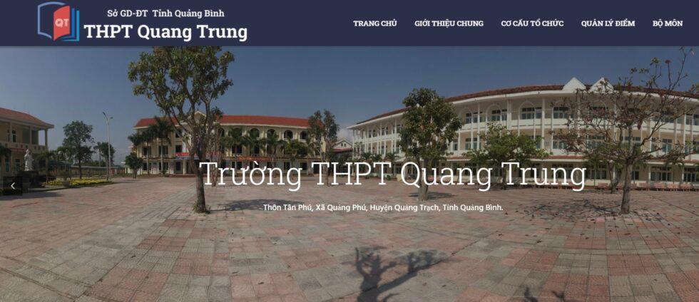 Các bài dự thi Thiết kế video giới thiệu về trường THPT Quang Trung